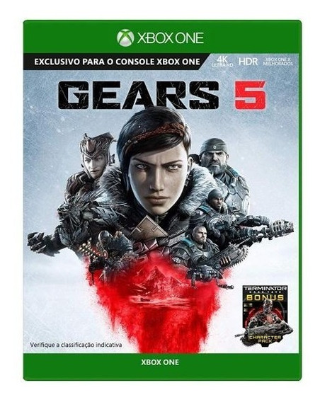 Jogo Gears Of War 5 Mídia Física - Xbox One