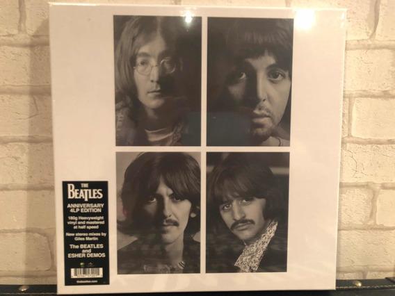 Box 4 Lp Beatles - White Album 50 Anos - Lacrado Pronta Entr