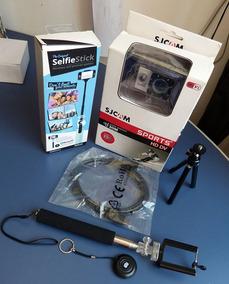 Camera Sjcam Sj4000 Completa Wifi Brindes Original Aventura