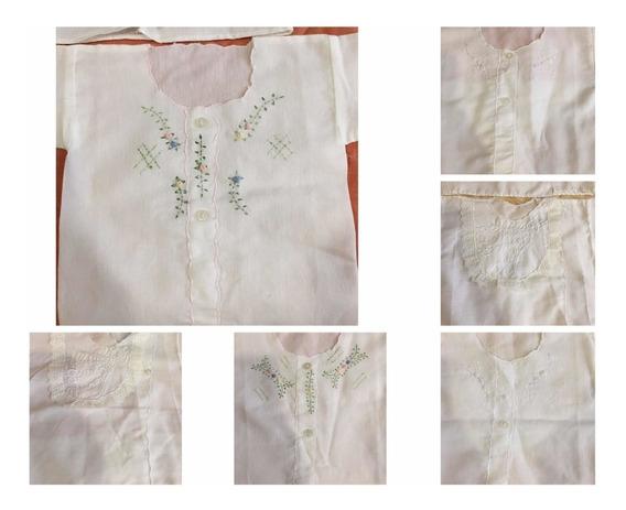Camisetas Para Bebe De 0 A 3 Meses Tela Con Bordado