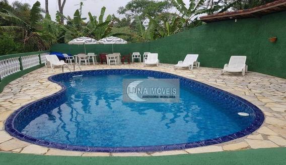 Chácara Com 2 Dormitórios À Venda, 2870 M² Por R$ 510.000,00 - Centro - Ibiúna/sp - Ch0022