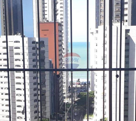 Oportunidade Apartamento 04 Quartos - Preço Ótimo - Área Privativa: 229,67 M² 01 Sala P/ 3 Ambientes - 1 Suíte Com, Vaga Privativa E Próxima Ao Mar - Ap1241