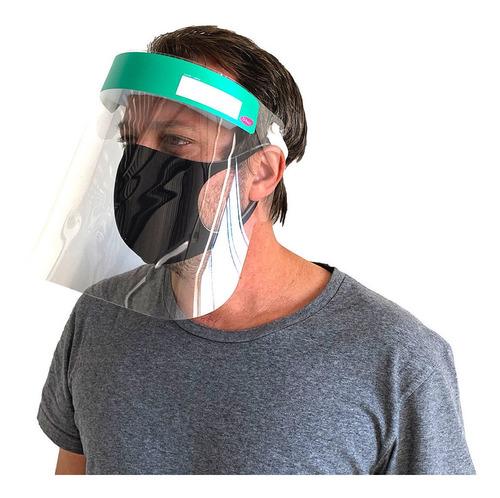 Imagem 1 de 1 de Mascara De Proteçao Face Shield Verde U-hu