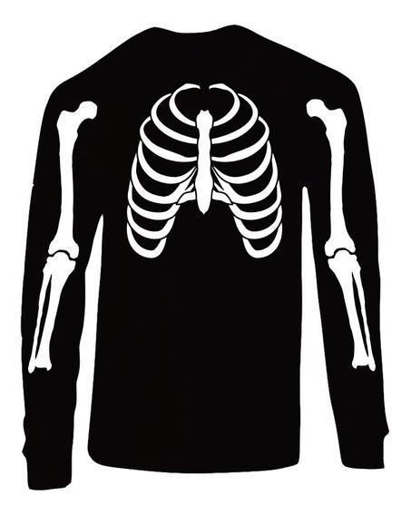 Playera Esqueleto Dia De Muertos (hallowen)