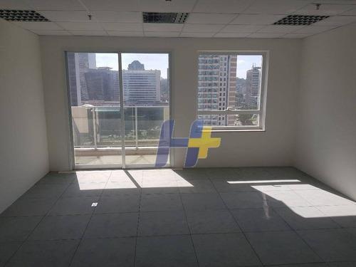 Sala Comercial 120m² Locação Brooklin - Cj0236