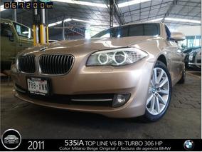2011 B M W, 535ia Top Line , Bi-turbo 309 Hp, Fact Original