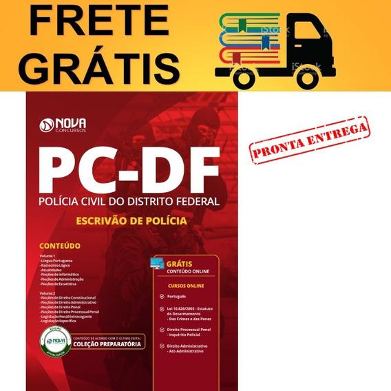Apostila Concurso Pc Df 2019 Escrivão De Polícia Civil Nova