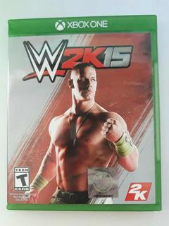 W2k15 Videojuego Lucha Libre Xbox One Físico Cd