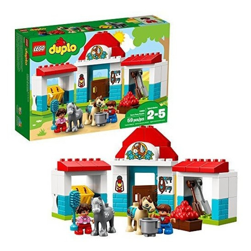 Lego Duplo Town Farm Pony Establo 10868 Bloques De Construcc