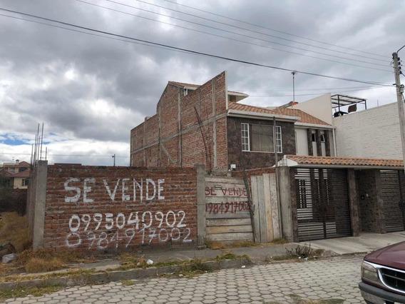 Terreno Con Cerramiento De 200m² Al Norte De Riobamba
