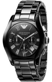 Relógio Emporio Armani Masculino Cerâmica Original Ar1400 Tp