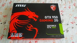 Geforce Msi Gtx 950 Gaming 2g Gddr5.
