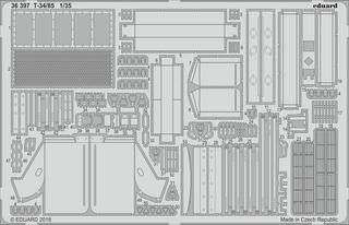Eduard 1/35 T -34/85 ( Para Base De Zuda) Piezas De Grabado