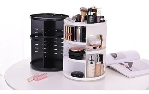Organizador Maquillaje Cosméticos Giratorio 360°