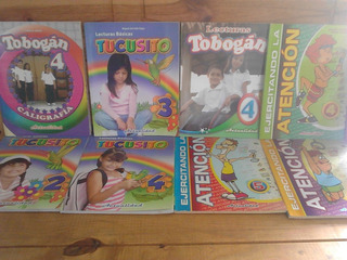 Libros, Tucusito, Tobogan,actualidad, Lectura, Primaria