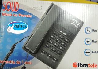 Telefone Com Fio Ibratele Solid 4