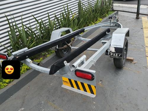 Carreta Usada Jetski Yamaha Fx Ho Svho Seadoo Gti 130 Vx Rxt