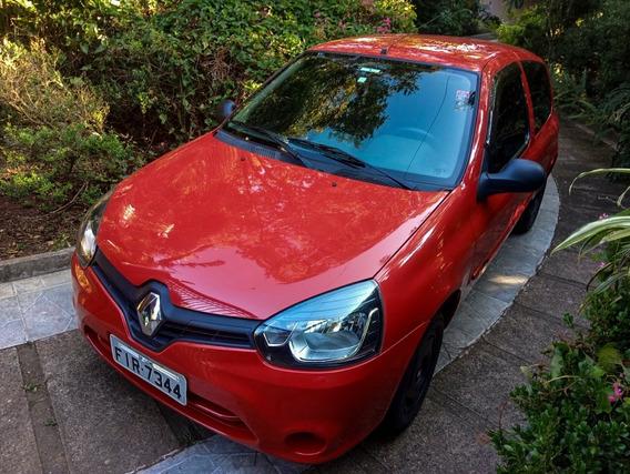 Renault Clio Authentique Flex Único Dono Nunca Bateu Flex