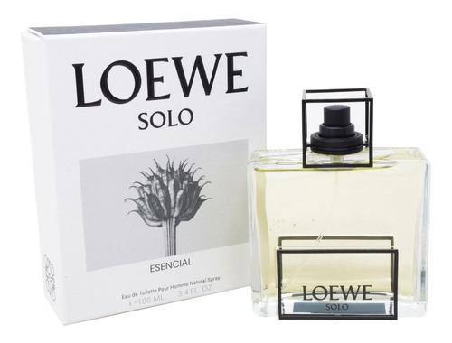Imagen 1 de 1 de Solo Loewe Esencial 100ml Edt