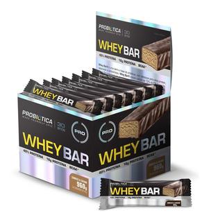 Whey Bar (caixa C/ 24 Unid. De 40g Cada) - Probiótica