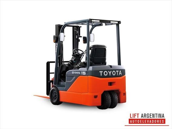 Autoelevador Toyota Diésel 1.5tn C/desplazador - Año 2013