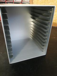 Organizador Aluminio Para 12 Cds