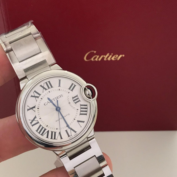 Cartier Ballon Bleu 36mm Automatic 2019 - Completo