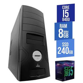 Computador Empresarial Concordia - Desktop Core I5 8400 8gb