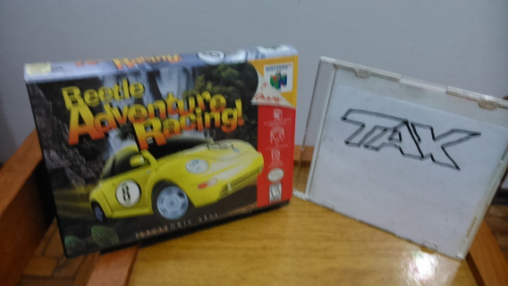 Apenas A Caixa - Beetle Adventure Racing ! - Nintendo 64 - L