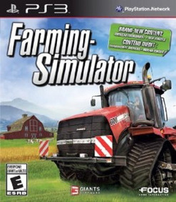 Farming Simulator - Ps3 Playstation 3