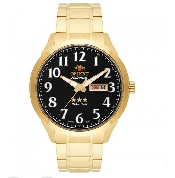 Relógio Masculino Orient Automático 469gp074 P2kx= 71
