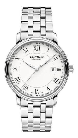 Relógio Pulso Montblanc Tradition Automático Safira 112610