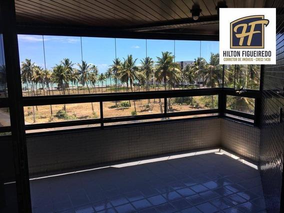 Apartamento Com 4 Dorm+dce, Para Alugar, 240 M² Por R$ 3.700/mês - Intermares - Cabedelo/pb - Ap5933