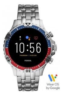 [em Estoque] Relógio Smartwatch Fossil Garrett 5a Ger Prata