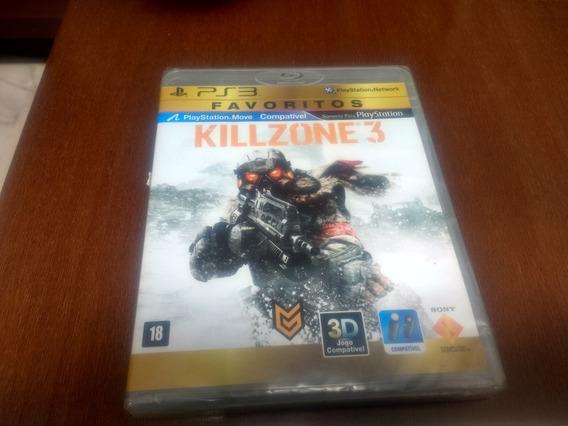 Killzone 3 Do Ps3 Novo Lacrado Original Mídia Física