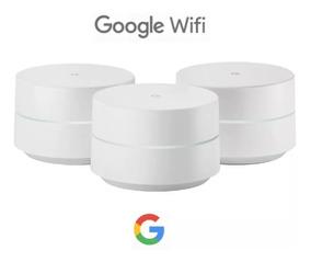 Roteador Mesh Wi-fi Google Wifi Com 3 Unidades, Ac 1304