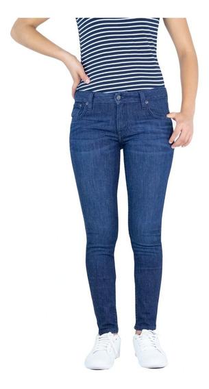 Jeans Breton Para Dama Skinny Fit. Estilo Bjw031