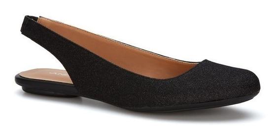 Zapatos De Piso Negros Ballerinas Negras Flats Andrea