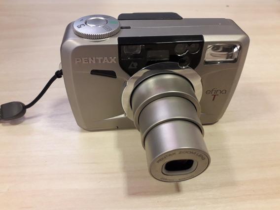 Câmera Fotográfica Pentax Reina T 23mm A 69mm Funcionando