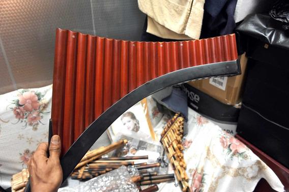 Flauta De Pan 24 Tubos De Madera Profecional