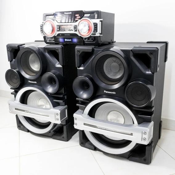 Som Super Woofer Panasonic Sa-max750 2400 Rms De Potência