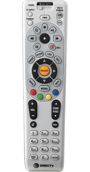 Control Remoto Universal Grande Rc66rx Tv Decodificador Dvd