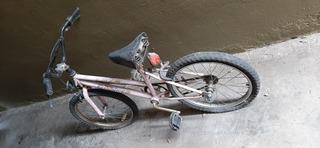 Bicicleta De Niña Rodado 20 Estilo Bmx