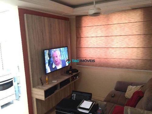 Apartamento Com 2 Dormitórios À Venda, 47 M² Por R$ 202.000,00 - Jardim Márcia - Campinas/sp - Ap2278