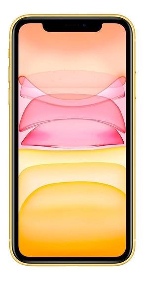 Apple iPhone 11 Dual SIM 256 GB Amarelo 4 GB RAM