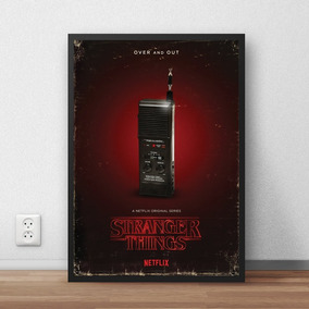 Quadro Stranger Things - Walkie Talkie (20x30cm)