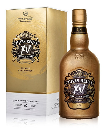 Chivas Regal Xv Gold Whisky Escocés 15 Años 750 Ml