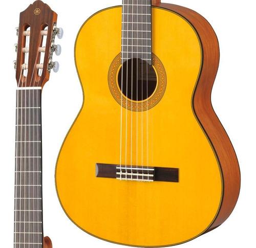 Violão Yamaha Cg142s Natural Clássico Tampo Sólido Spruce