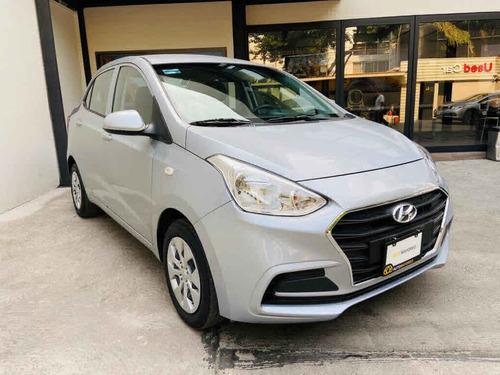 Imagen 1 de 9 de Hyundai Grand I10 2020 4p Gl Mid L4/1.2 Premium Man
