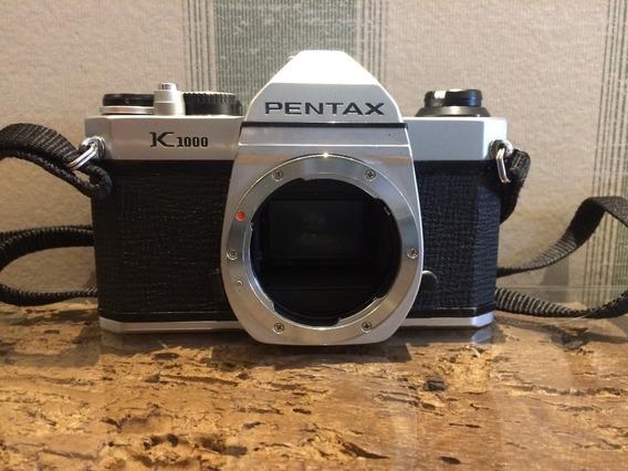 Câmera Pentax K1000 Revisada, Limpa E Regulada Excelente